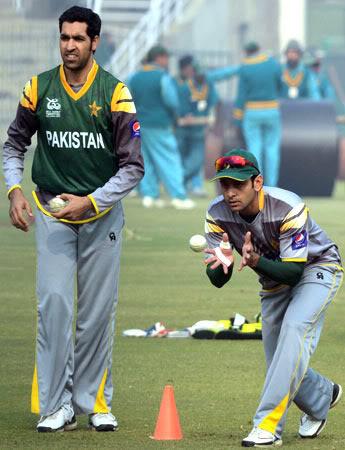 Pakistan Cricket Team Train For India Hafeez Gul